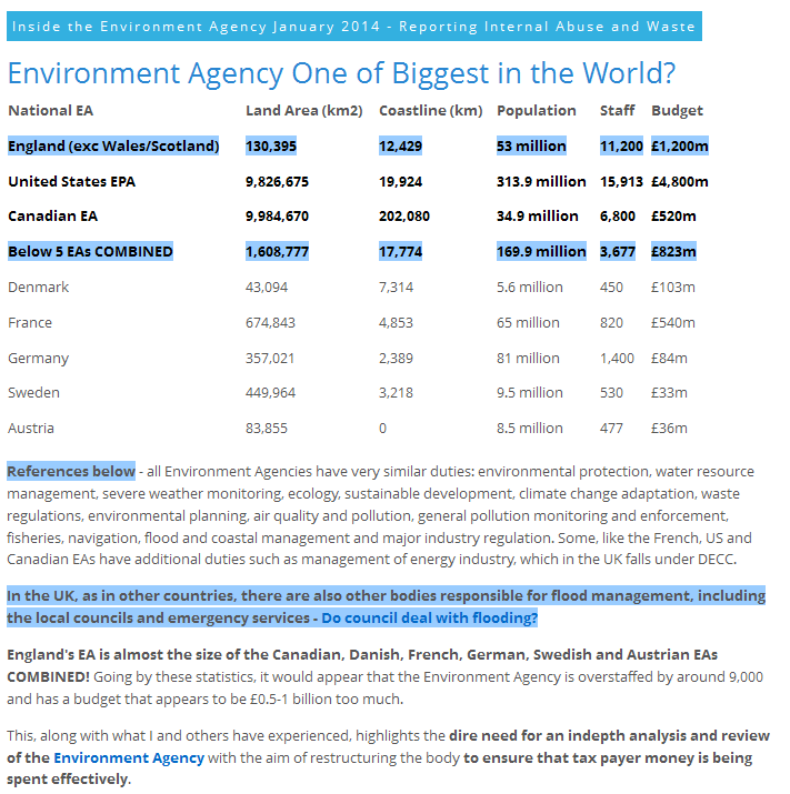 uk environment agency second largest environmental agency in world